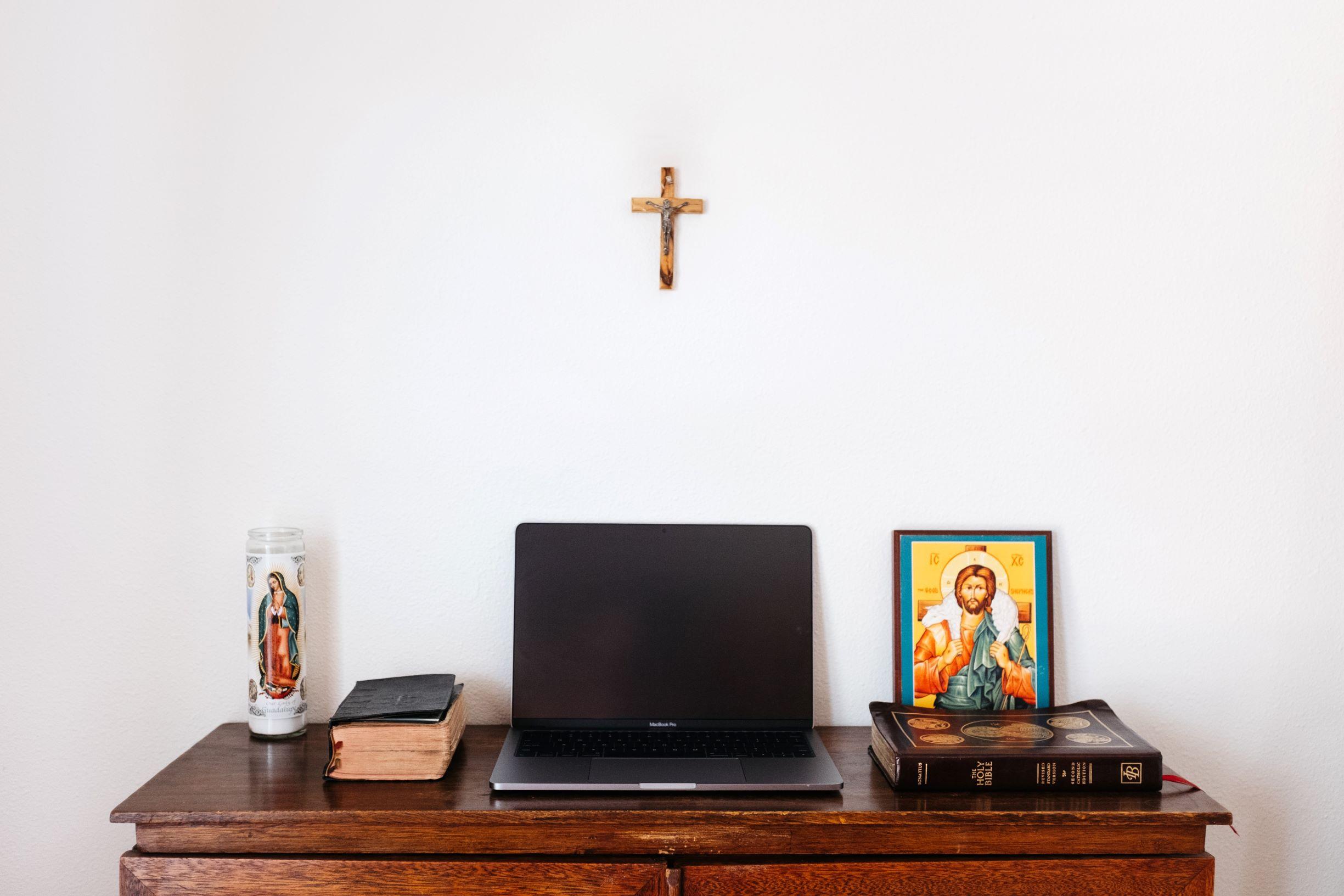"""Online gudstjeneste: """"Jesus er herre, når livet er vanskeligt"""""""