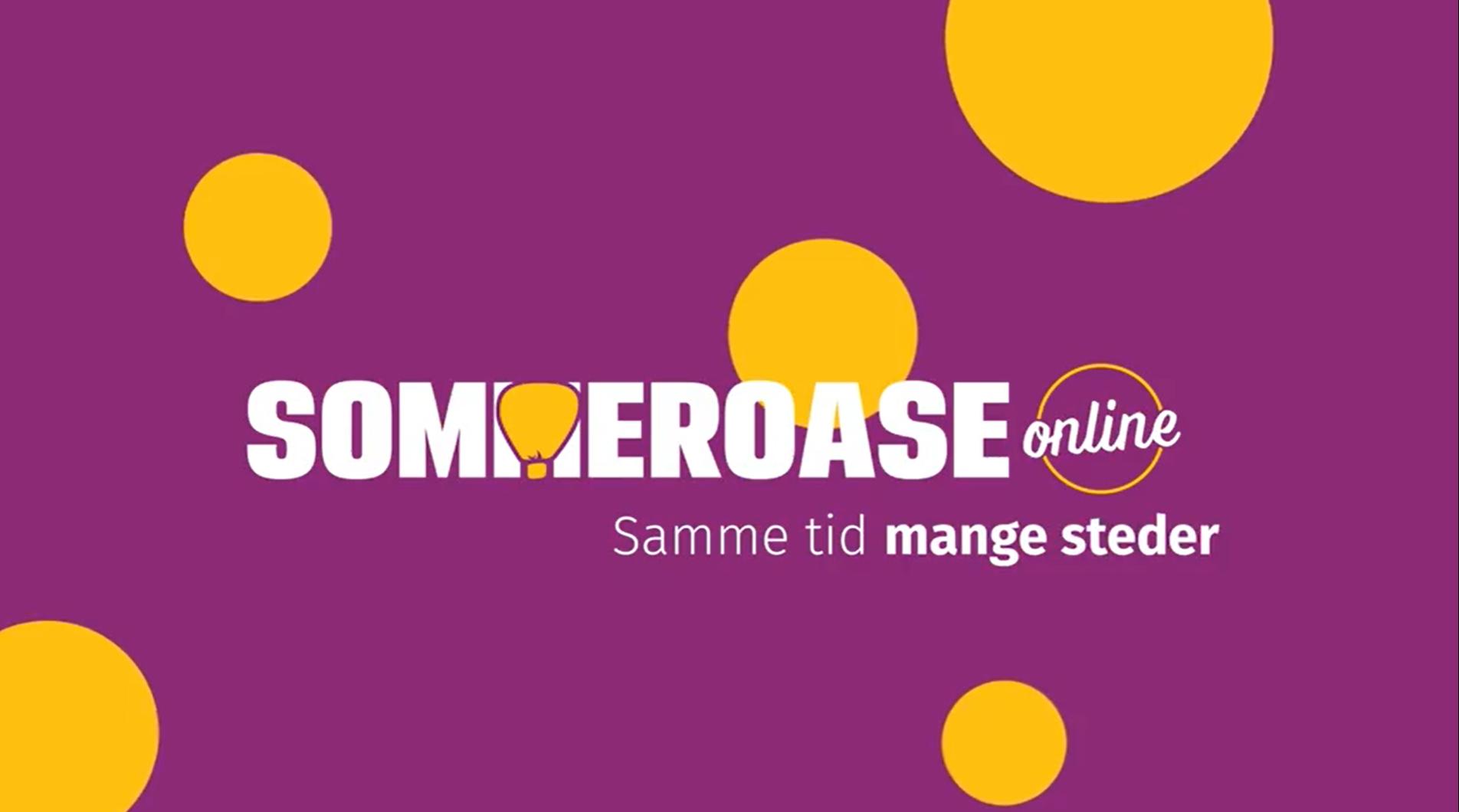 Se tema og program fra SommerOase online