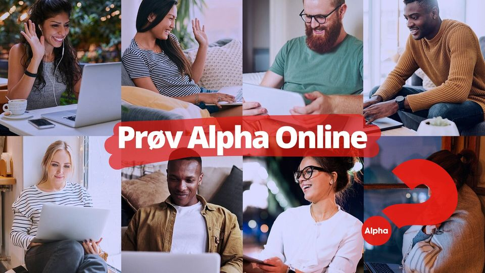 Del invitationen til Alpha online